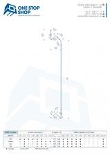 Profil lamelar pentru fatade ventilate, cu montaj reglabil si prinderi ascunse OSS