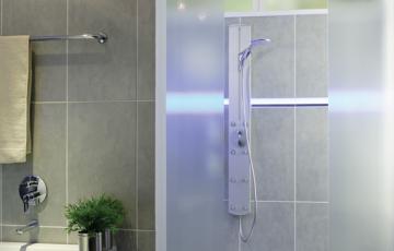 Cabine de duş din sticlă Cabinele de dus din sticla SAINT GOBAIN GLASS creeaza un spatiu confortabil, elegant, dar si dinamic, care inchide afara problemele si stresul cotidian.