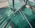 Trepte din sticlă SAINT GOBAIN