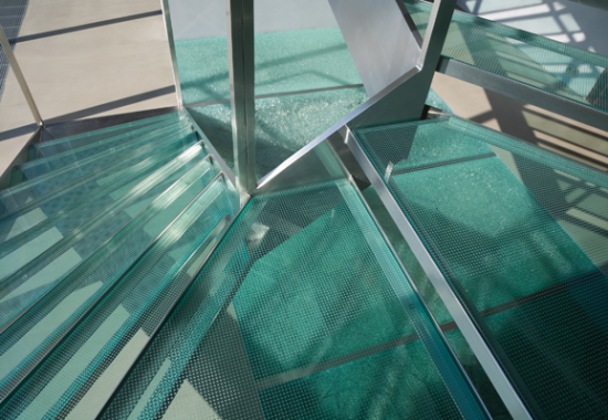 SAINT GOBAIN Trepte de sticla - Trepte din sticlă SAINT GOBAIN