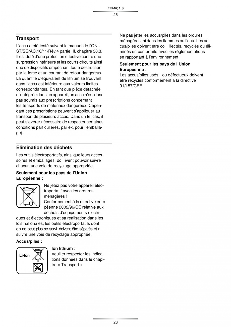 Pagina 28 - Masina de gaurit si insurubat cu acumulator 12 V 1.3 Ah STAYER BHL 112 K Instructiuni...