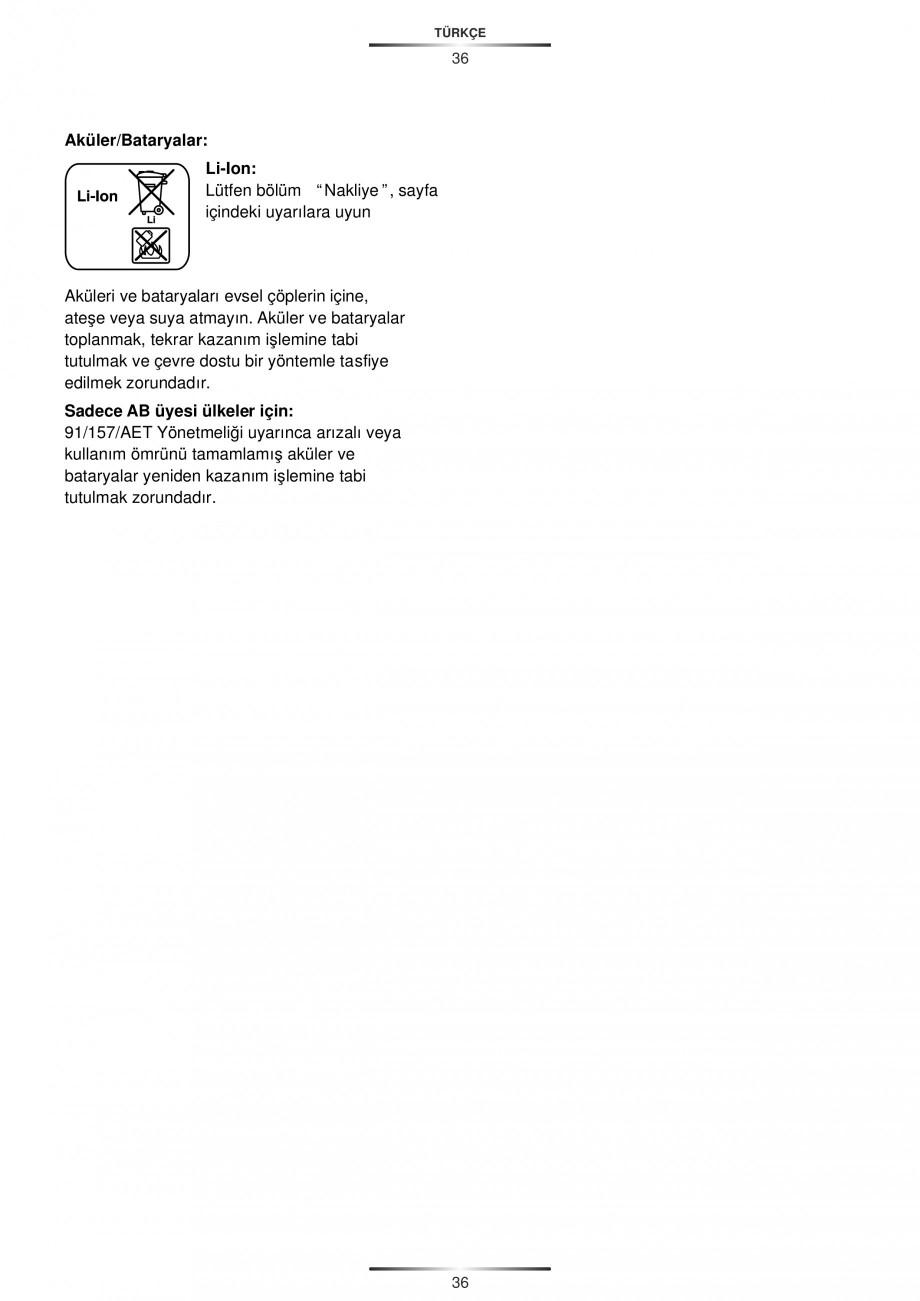 Pagina 38 - Masina de gaurit si insurubat cu acumulator 12 V 1.3 Ah STAYER BHL 112 K Instructiuni...