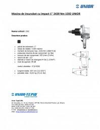 Masina de insurubat cu impact 1 2439 Nm