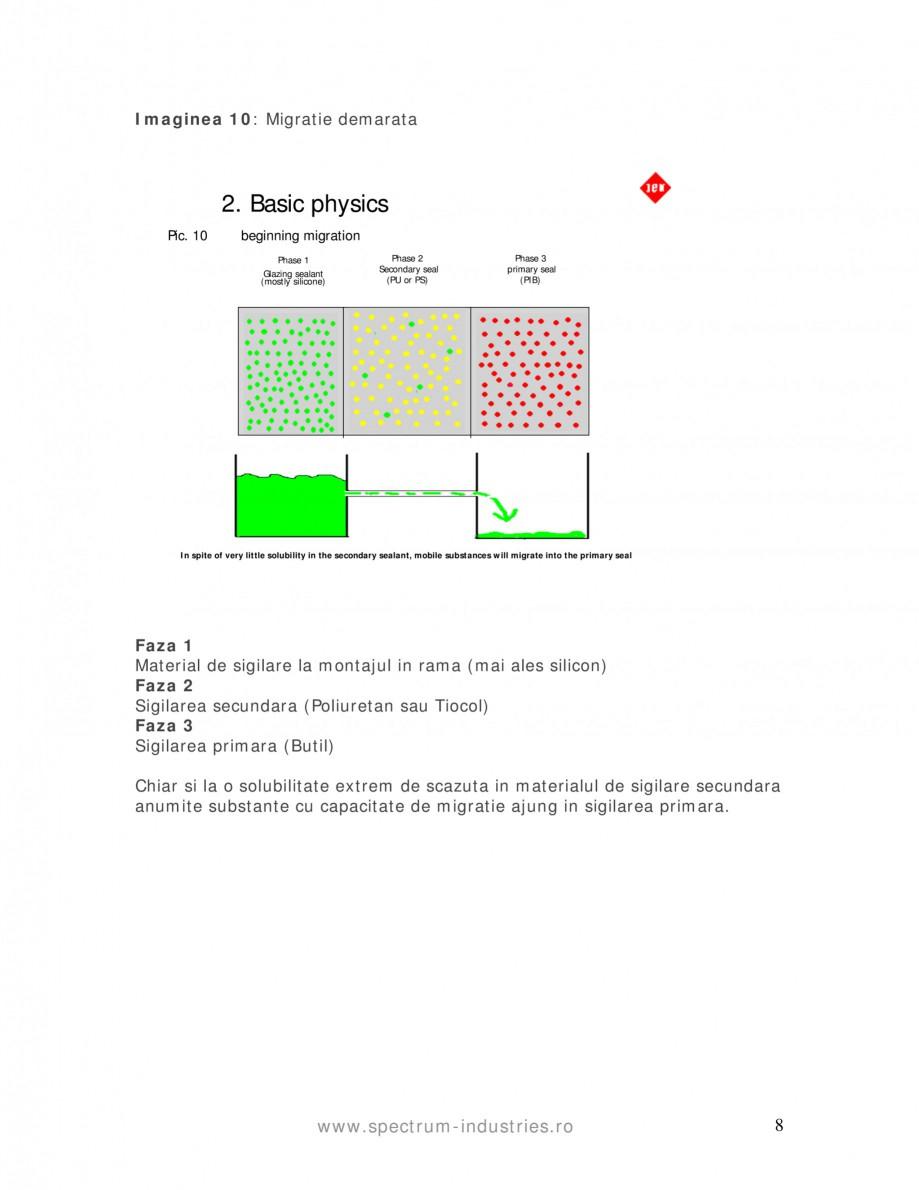 Pagina 8 - Fenomenul de migrare SPECTRUM INDUSTRIES Catalog, brosura Romana  informatii de la...