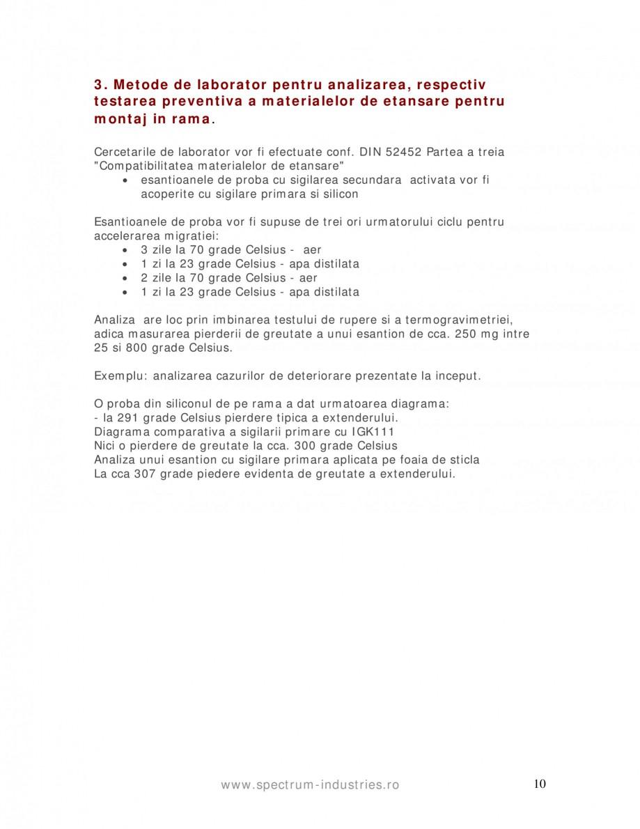 Pagina 10 - Fenomenul de migrare SPECTRUM INDUSTRIES Catalog, brosura Romana  multistrat in care au ...