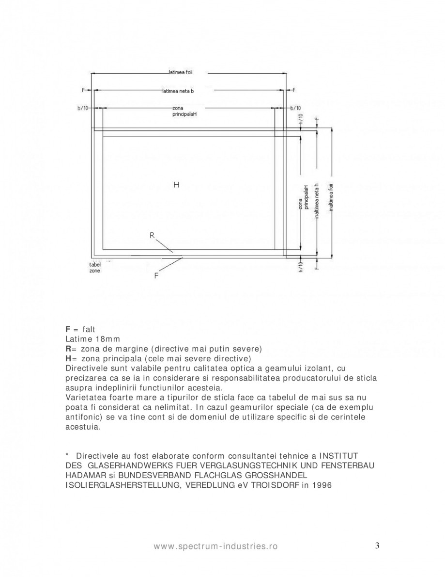 Pagina 3 - Manual de tolerante SPECTRUM INDUSTRIES Catalog, brosura Romana  1 mp: max. 1 bucata ...