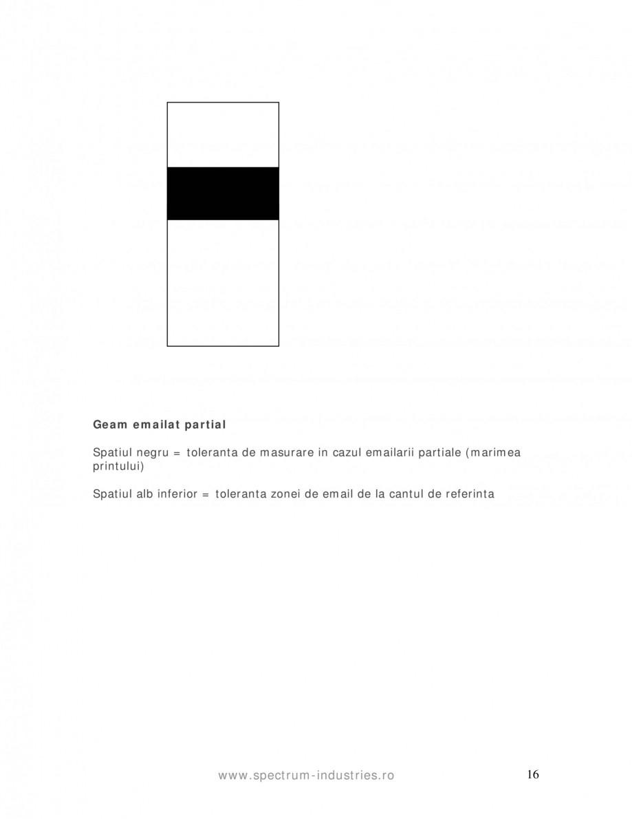 Pagina 16 - Manual de tolerante SPECTRUM INDUSTRIES Catalog, brosura Romana ilizata in domeniul...