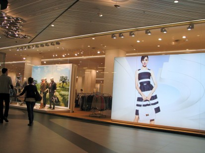 Prelucrare sticla si montaj pentru Mall Promenada Bucuresti Mall Promenada Prelucrare sticla si montaj