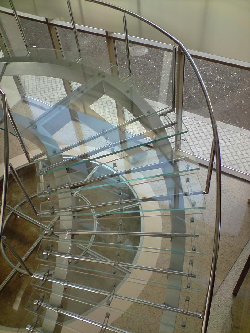 Lucrari, proiecte Scara din sticla SPECTRUM INDUSTRIES - Poza 60