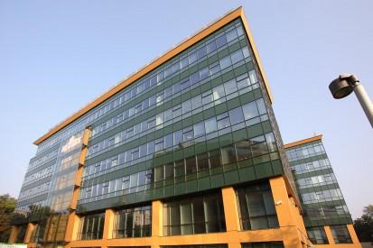 Prelucrare sticla complex de birouri S-Parc S Park Prelucrare sticla complex de birouri