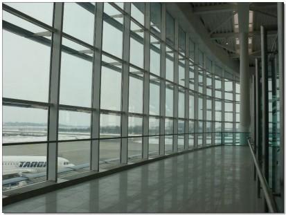 Terminal Aeroport Otopeni Terminal Aeroport Otopeni Fatade cortina cu geamuri izolante
