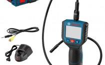 Camere de inspectie cu acumulator Professional Camera de inspactie cu display LCD 10,8 V BOSCH Professional GOS 10,8 V-LI,   Acumulator LI-Ion, 10.8 V, 2 Ah,   Acumulator LI-Ion, 10.8 V, 1.5 Ah, Incarcator AL1130CV 10,8 V Li-Ion BOSCH Professional Incarcator Li-Ion, AL1130CV 10.8 V