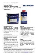 Membrana de hidroizolatie poliuretanica cu aplicare lichida fara solventi MARIS POLYMERS