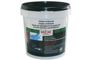 Solutii pentru repararea acoperisurilor MEM ofera o gama variata de solutii pentru repararea acoperisurilor: masa de spaclu, masa de reparatii, sigilant pentru rosturi, solutie etanseizanta pe baza de acril.