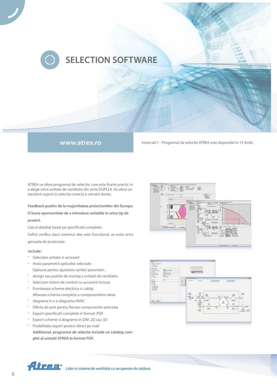 Pagina 6 - Unitate de ventilatie ATREA DUPLEX MULTI-N Rooftop Catalog, brosura Romana n acest fel...
