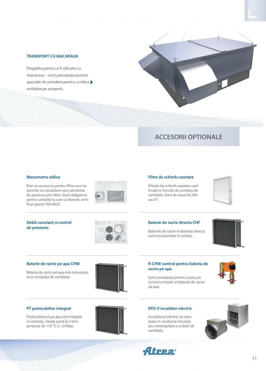 Pagina 11 - Unitate de ventilatie ATREA DUPLEX MULTI-N Rooftop Catalog, brosura Romana 00, 8450...