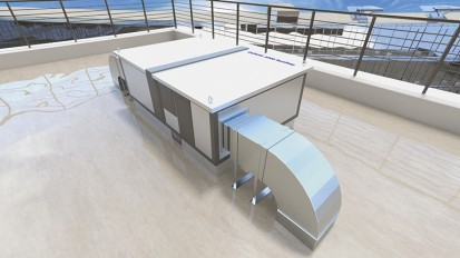 Unitate de ventilatie DUPLEX Basic-N Rooftop Centrale de tratare aer