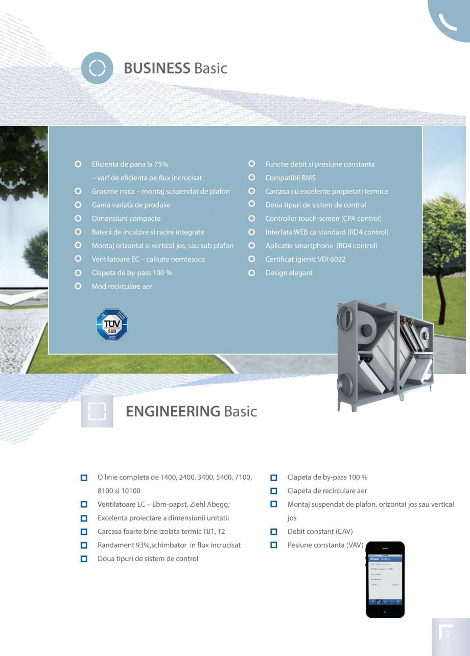 Pagina 3 - Unitate de ventilatie ATREA DUPLEX BASIC Catalog, brosura Romana latoare EC – calitate ...