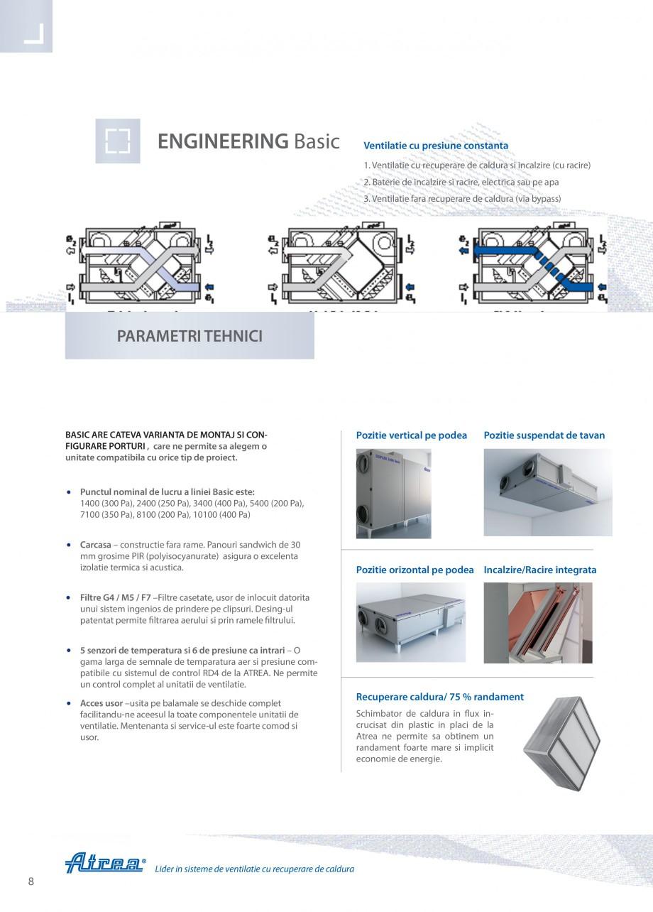 Pagina 8 - Unitate de ventilatie ATREA DUPLEX BASIC Catalog, brosura Romana Incercati-l –...