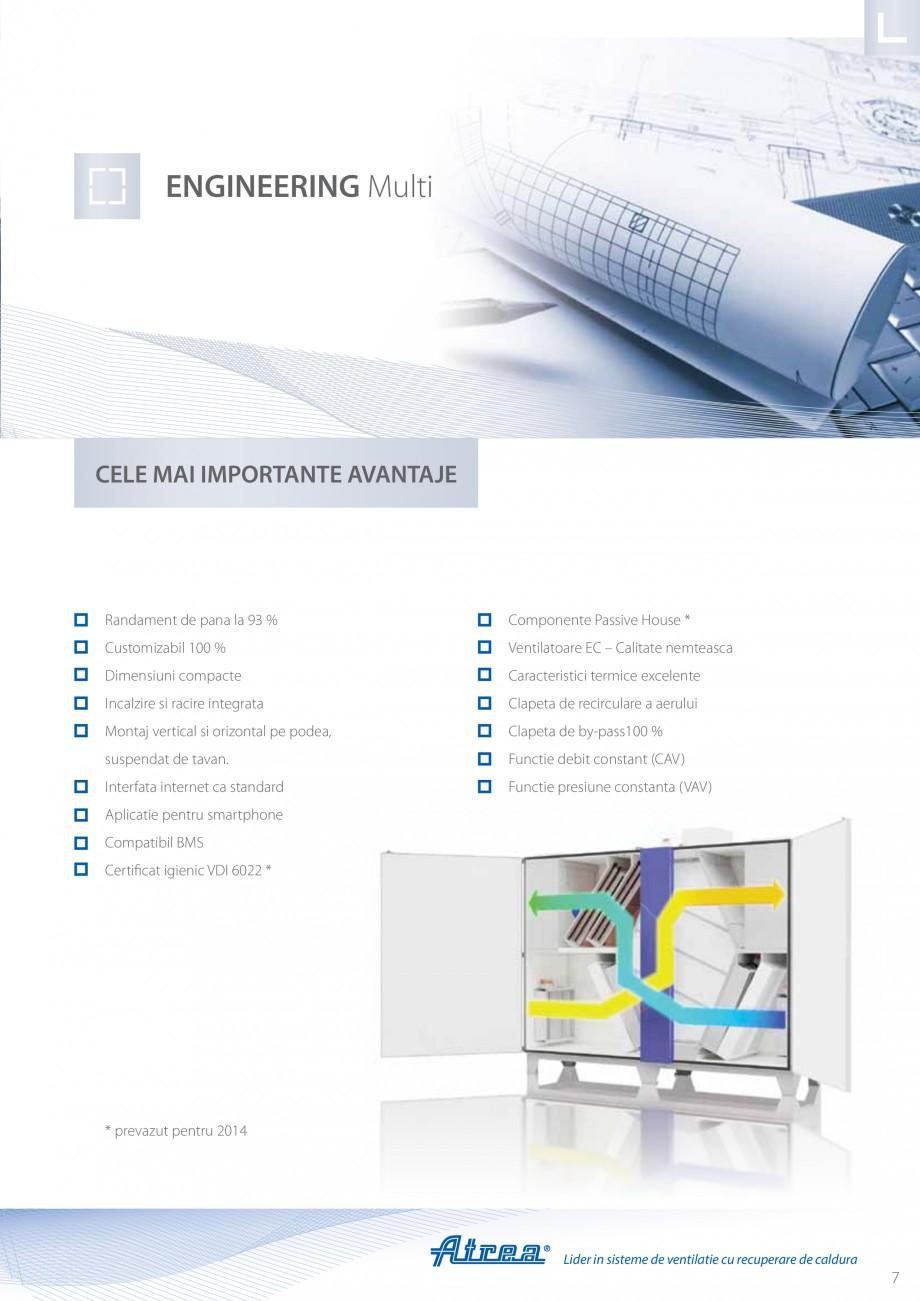 Pagina 7 - Unitate de ventilatie ATREA DUPLEX MULTI Catalog, brosura Romana ventilatie in orice tip ...