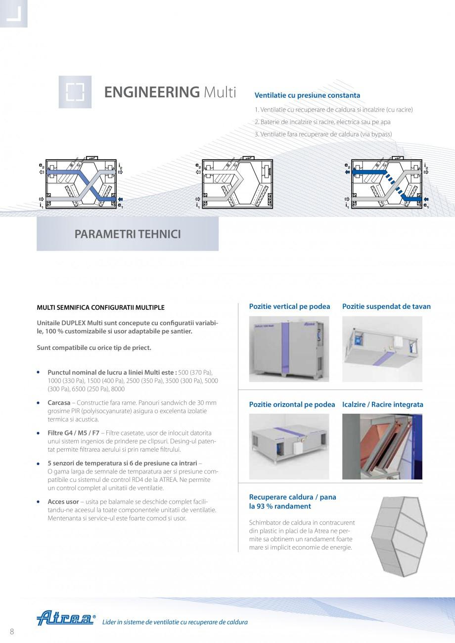 Pagina 8 - Unitate de ventilatie ATREA DUPLEX MULTI Catalog, brosura Romana prin calcularea...