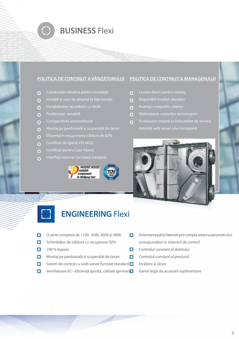 Pagina 3 - Unitate de ventilatie ATREA DUPLEX-S FLEXI Catalog, brosura Romana ver-ului încorporat  ...