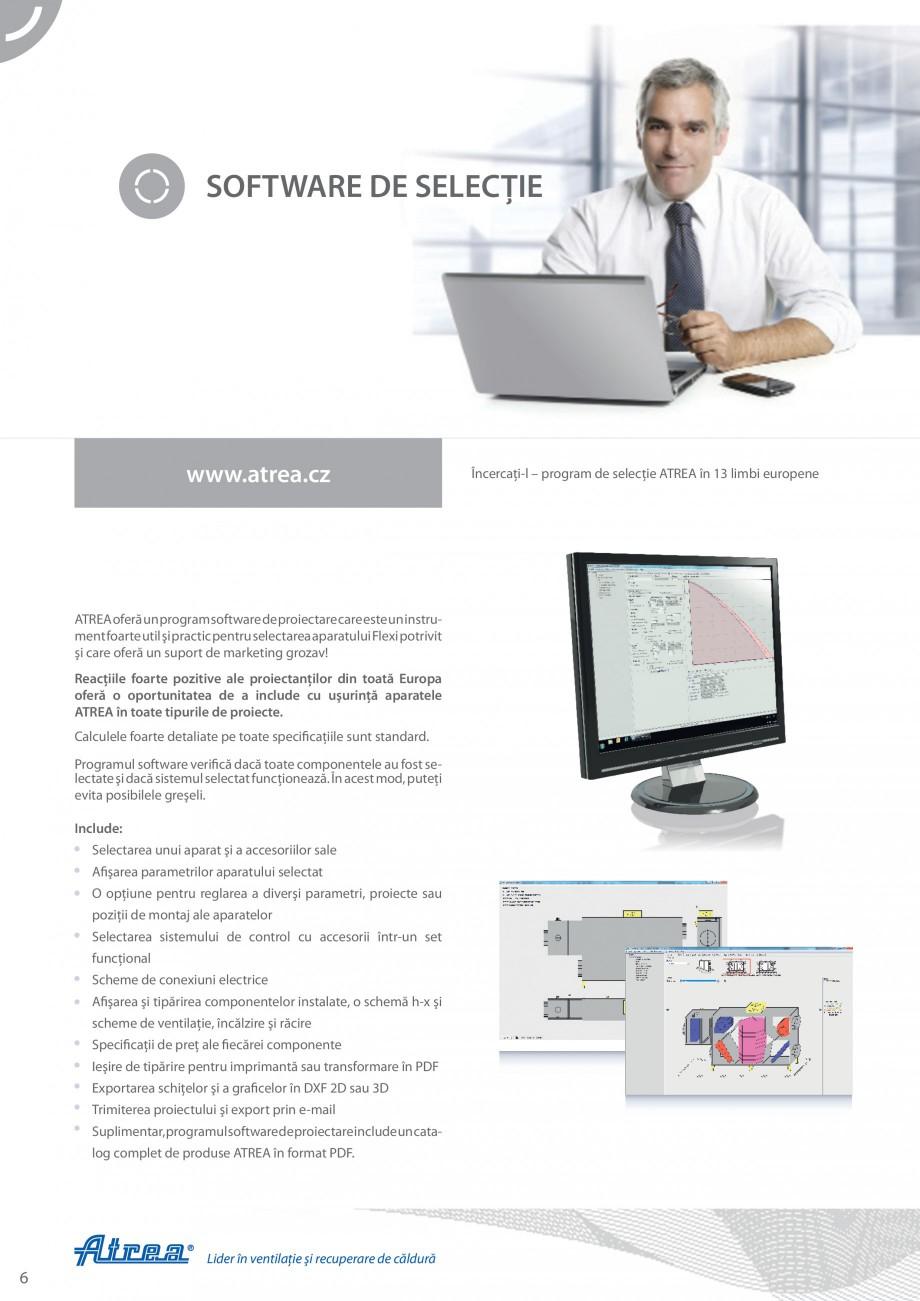 Pagina 6 - Unitate de ventilatie ATREA DUPLEX-S FLEXI Catalog, brosura Romana  modelele de igienă, ...