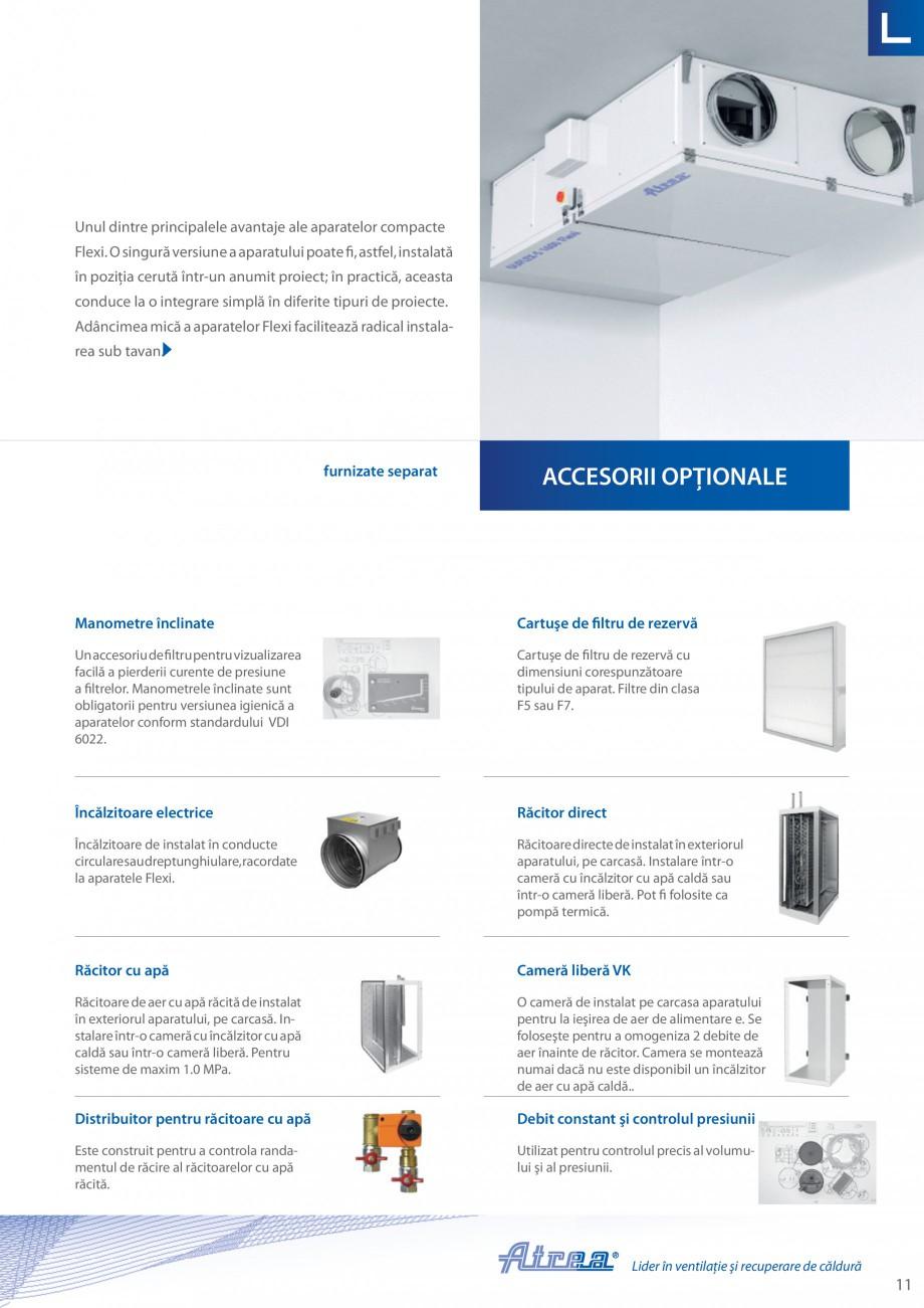 Pagina 11 - Unitate de ventilatie ATREA DUPLEX-S FLEXI Catalog, brosura Romana 1  e1  PARAMETRI...