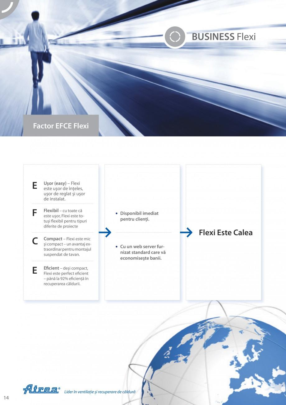 Pagina 14 - Unitate de ventilatie ATREA DUPLEX-S FLEXI Catalog, brosura Romana titatea totală de...