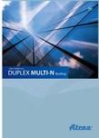 Unitate de ventilatie ATREA - DUPLEX MULTI-N Rooftop