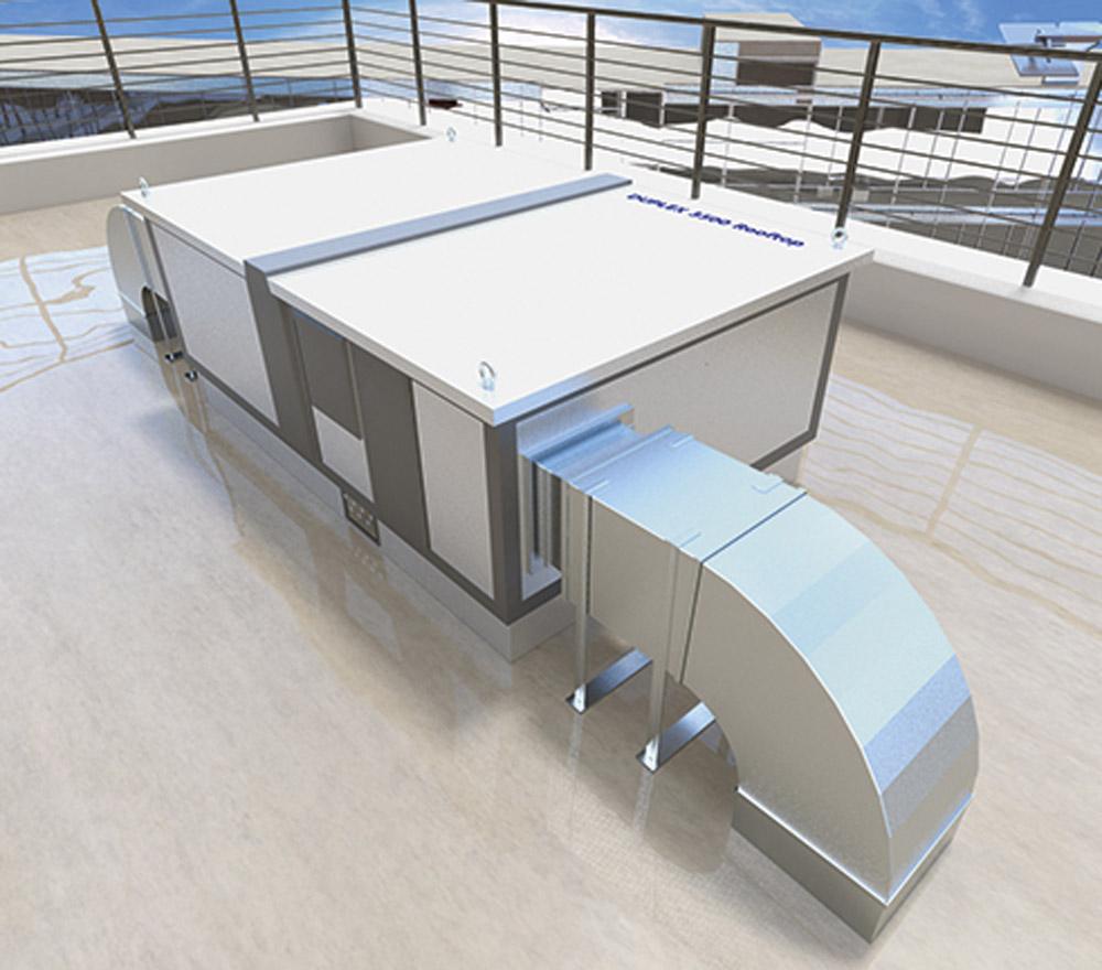 Unitate de ventilatie DUPLEX Basic-N Rooftop ATREA - Poza 2