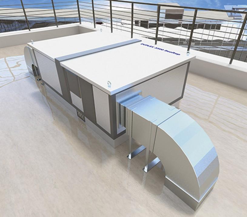 Prezentare produs Unitate de ventilatie DUPLEX Basic-N Rooftop ATREA - Poza 2