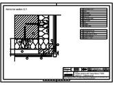 Sisteme de prindere fatade ventilate cu clame, detaliu colt exterior TRESPA