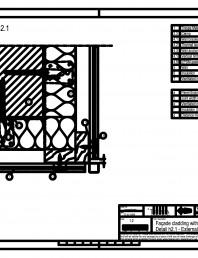 Sisteme de prindere fatade ventilate cu clame, detaliu colt exterior