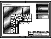 Sisteme de prindere fatade ventilate cu clame, detaliu colt interior TRESPA