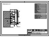 Sisteme de prindere fatade ventilate cu clame, detaliu de prondere la baza fatadei TRESPA
