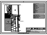 Sisteme de prindere fatade ventilate cu clame, detaliu de racordare la fereastra - Sectiune verticala TRESPA