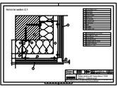 Sisteme de prindere fatade ventilate cu profile oarbe, detaliu colt exterior TRESPA