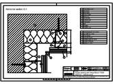 Sisteme de prindere fatade ventilate cu profile oarbe, detaliu colt interior TRESPA