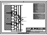 Sisteme de prindere fatade ventilate cu profile oarbe, detaliu de imbinare pe orizontala cu profil intermediar TRESPA