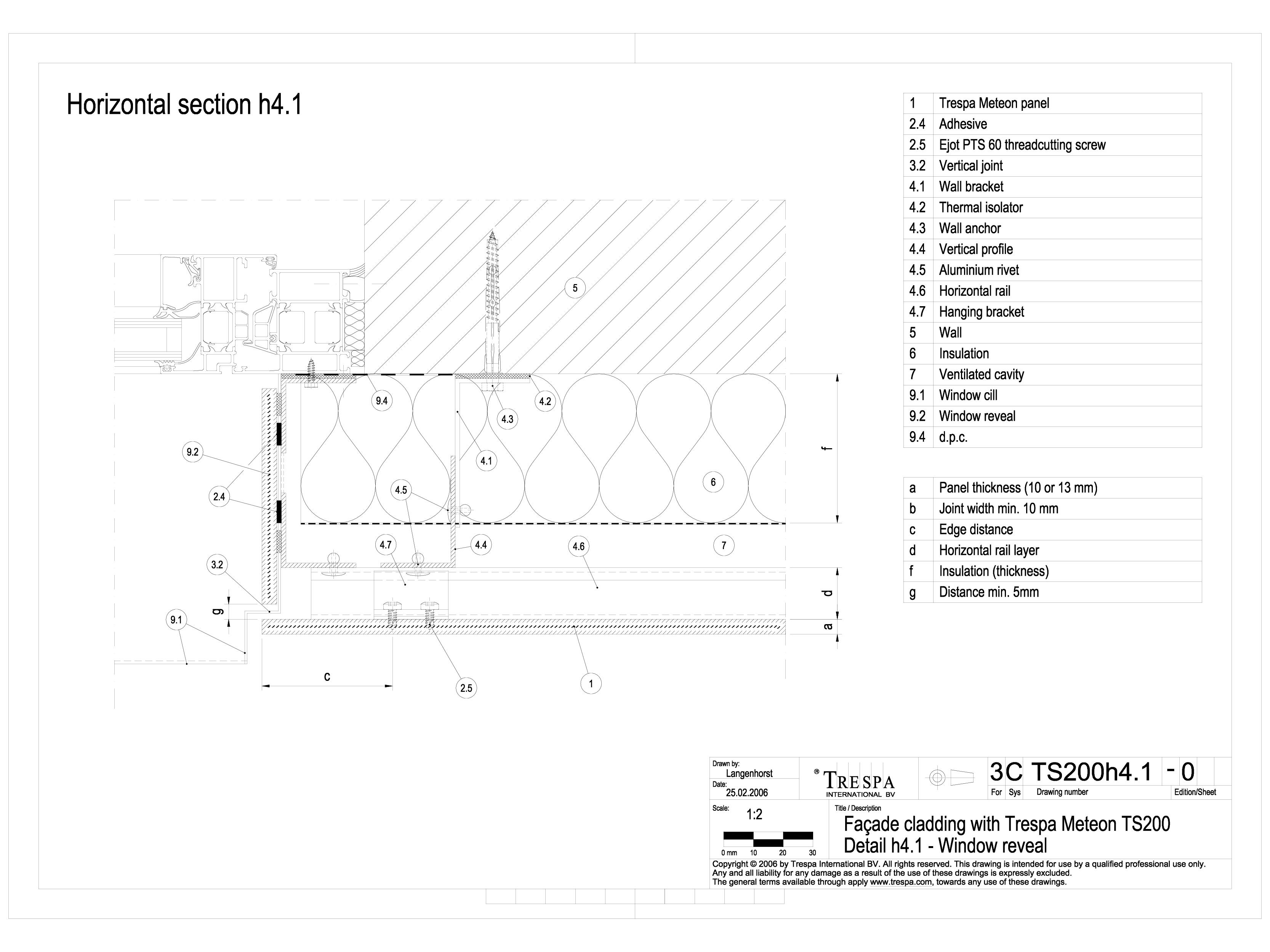 Pagina 1 - CAD-DWG Sisteme de prindere fatade ventilate invizibile cu suruburi si insereturi,...