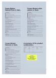 Informatii referitoare la culori - Sisteme de panouri pentru fatade ventilate TRESPA - METEON