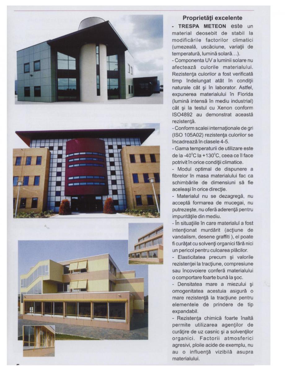 Pagina 1 - Sisteme de panouri pentru fatade ventilate TRESPA METEON Fisa tehnica Romana