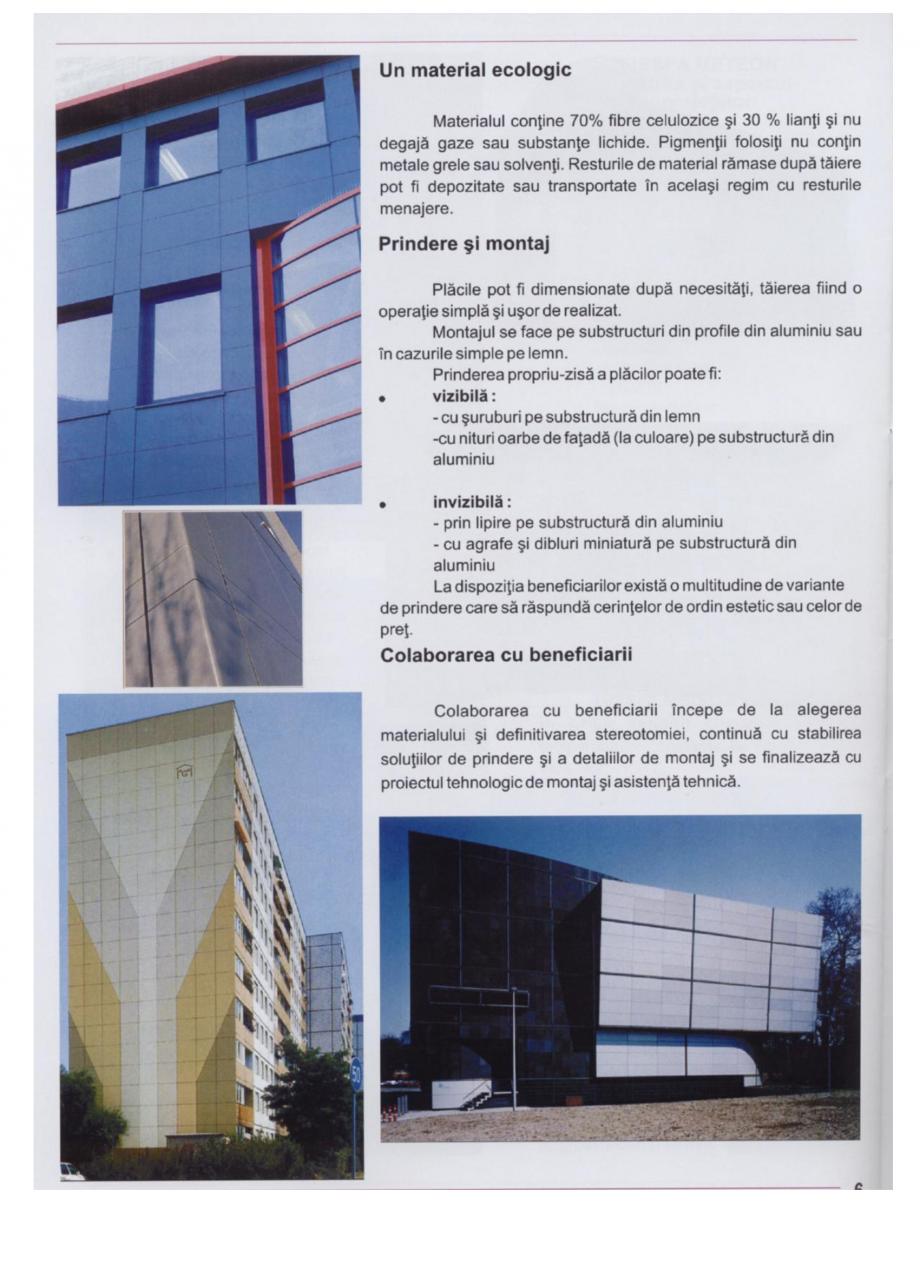 Pagina 2 - Sisteme de panouri pentru fatade ventilate TRESPA METEON Fisa tehnica Romana