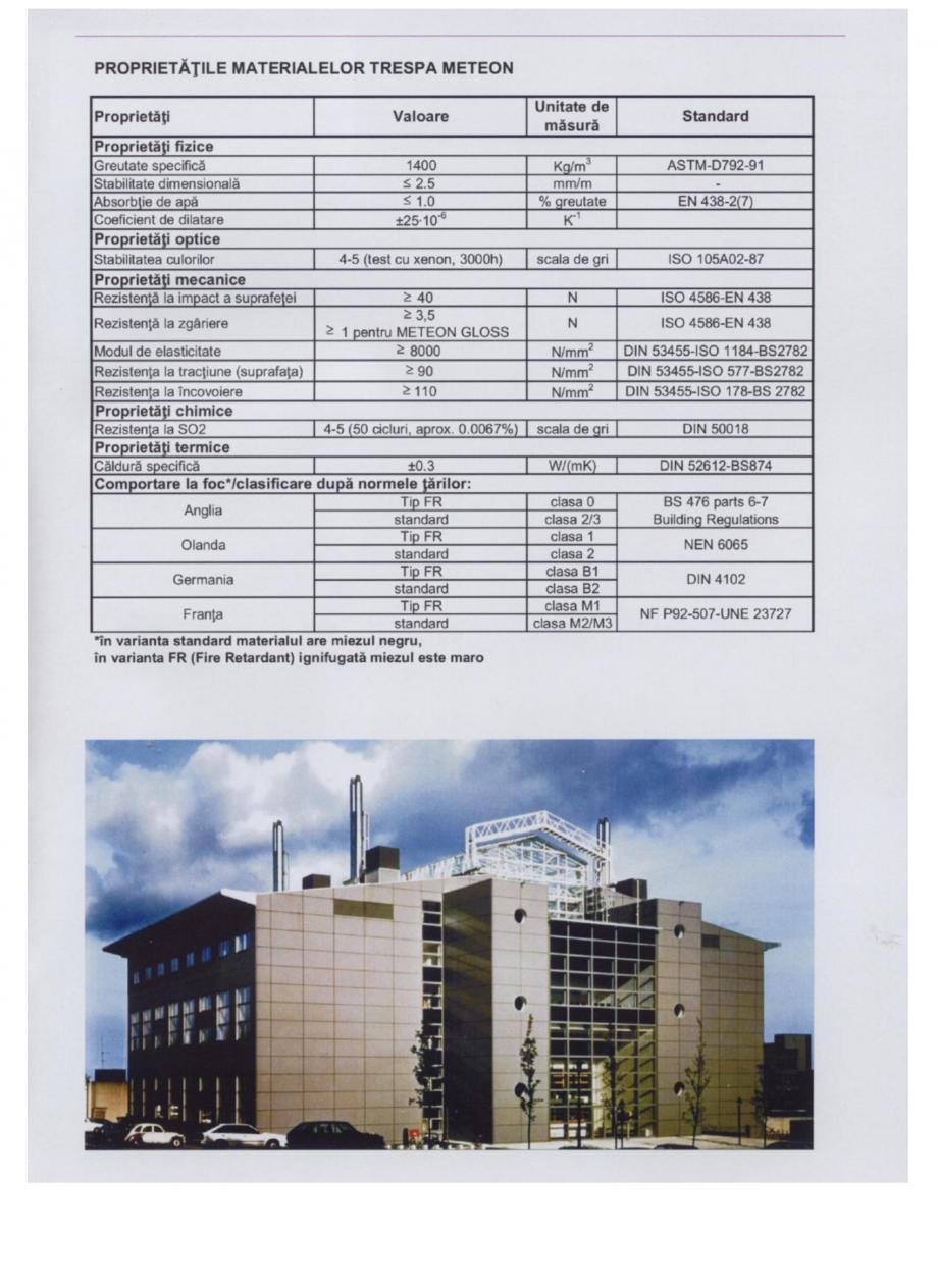 Fisa tehnica Sisteme de panouri pentru fatade ventilate METEON TRESPA Placi HPL pentru fatade ventilate GIBB TECHNOLOGIES  - Pagina 3