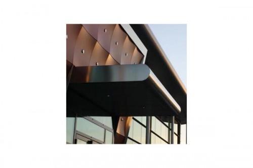 Lucrari de referinta Placaje HPL pentru fatade ventilate - Proiectul Archi Concept, Merignac, Franta TRESPA - Poza 1