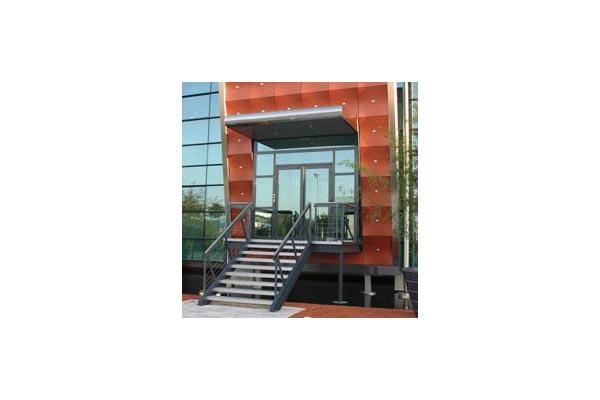 Placaje HPL pentru fatade ventilate - Proiectul Archi Concept, Merignac, Franta TRESPA - Poza 5