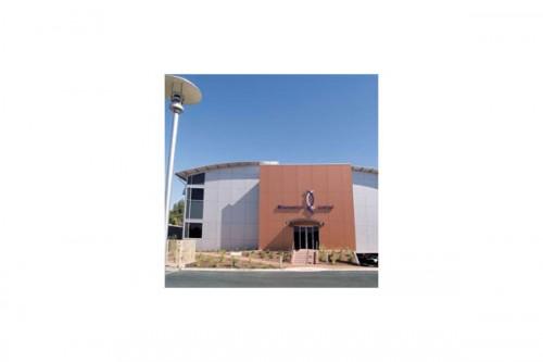 Lucrari de referinta Placaje HPL pentru fatade ventilate - Proiectul Bionomics, Australia TRESPA - Poza 2