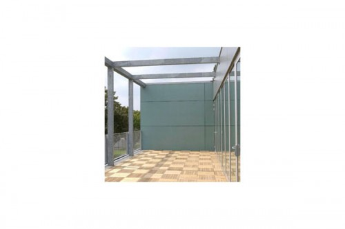 Lucrari de referinta Placaje HPL pentru fatade ventilate - Proiectul Clubhouse Tennis Club Strassbourg, Franta TRESPA - Poza 3