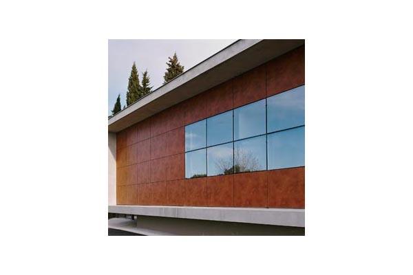 Placaje HPL pentru fatade ventilate - Proiectul Espace Georges Brassens, Sete, Franta TRESPA - Poza 2